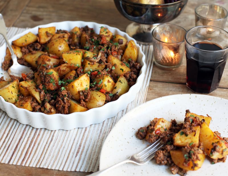 How to make a Cuban Meaty Potato Stuffing [RECIPE]